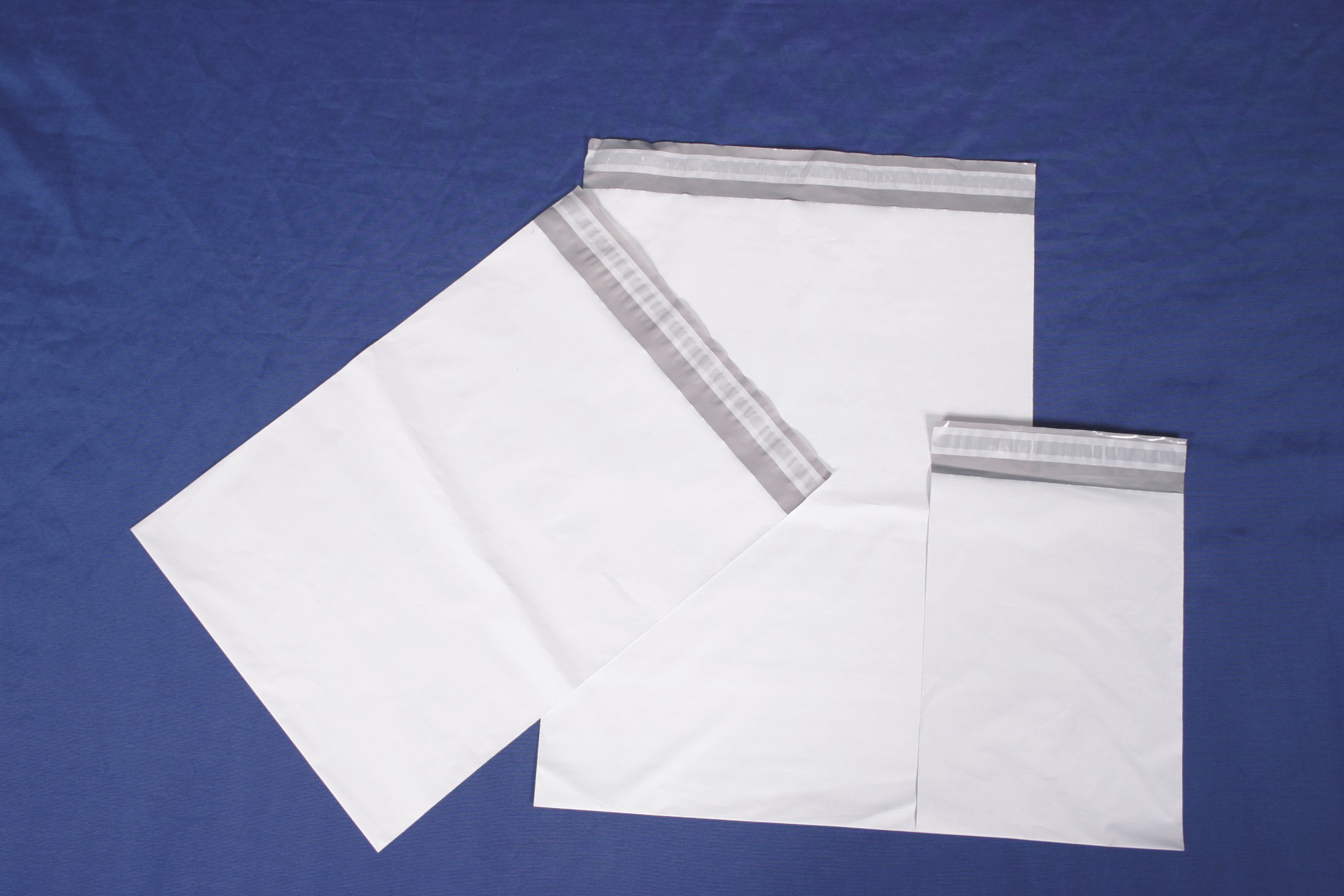 gray self seal poly mailer bags
