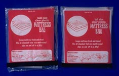 plastic furniture & mattress covers