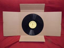 record album mailer boxes